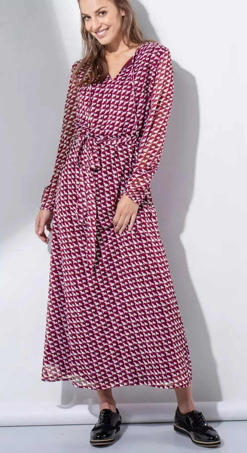 Dlouhé šaty s potiskem Blancheporte