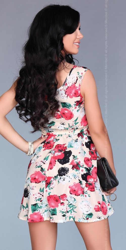 Lehké letní květinové šaty Merribel