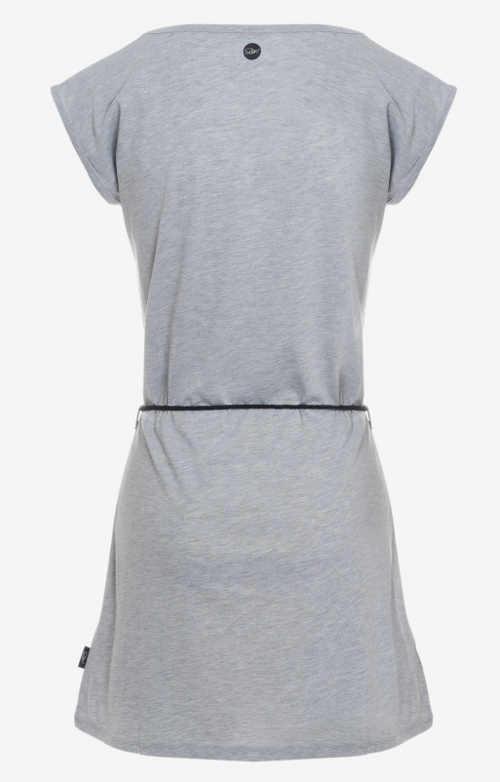 Lehké letní tunikové šaty s krátkým rukávem