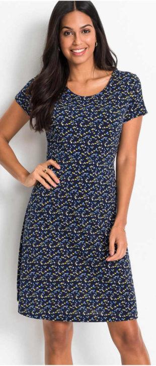 Levné dámské letní šaty s rozšířenou sukni