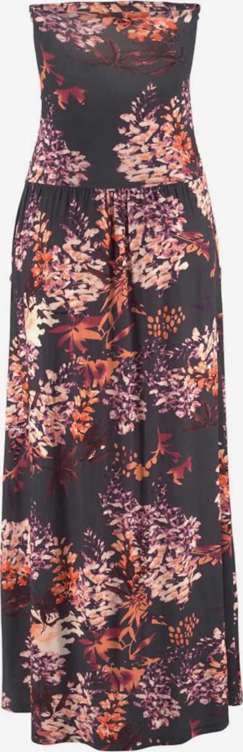 Dámské letní maxi šaty bez ramínek