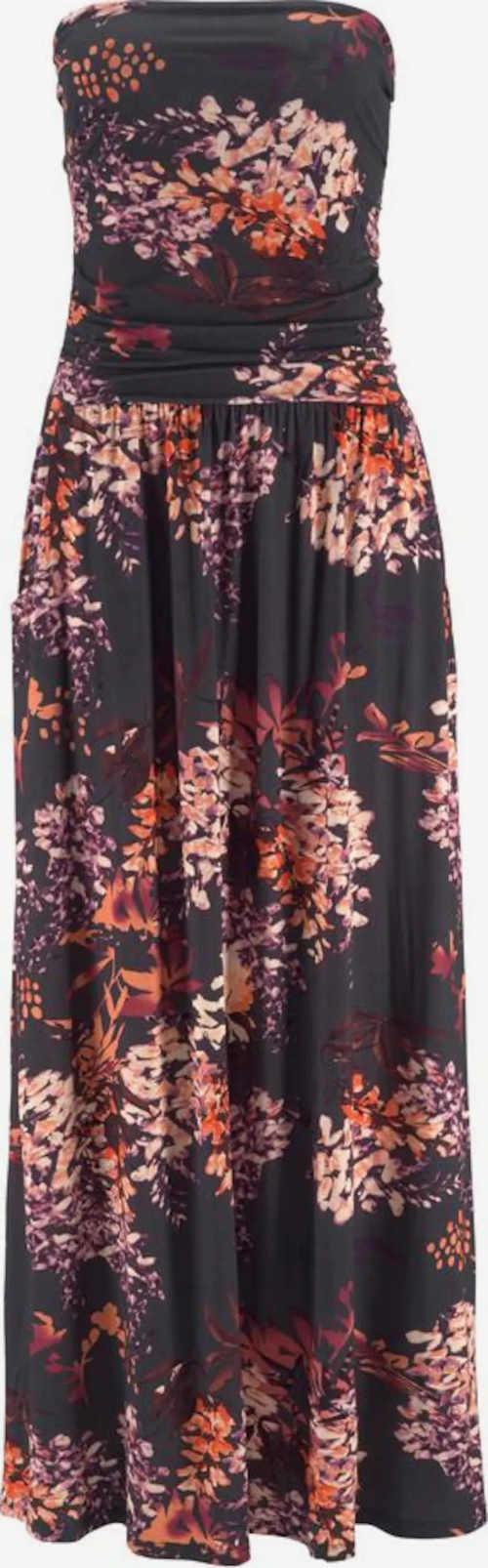 Dlouhé bandeau dámské šaty na léto