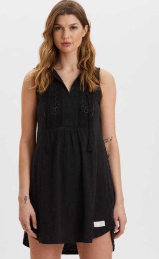Elegantní a praktické letní šaty bez rukávů nad kolena