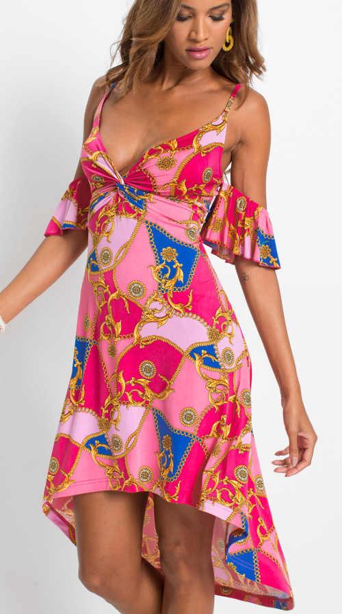 Moderní letní šaty nejen do společnosti