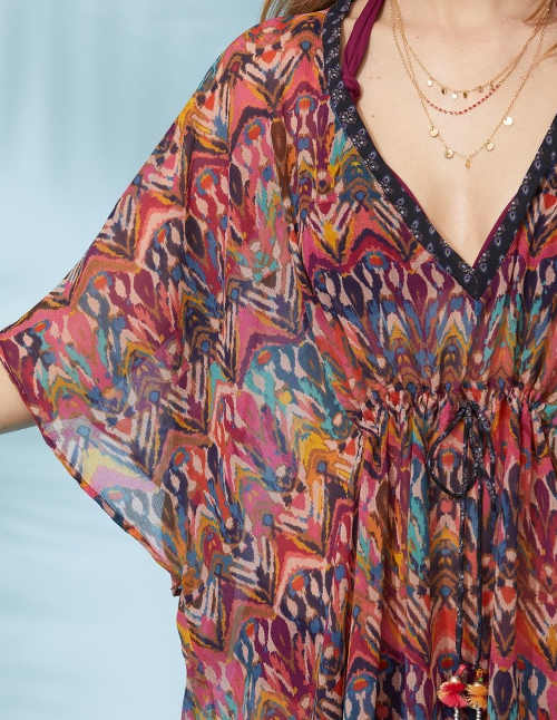 Plážové šaty pro dámy v barevném provedení