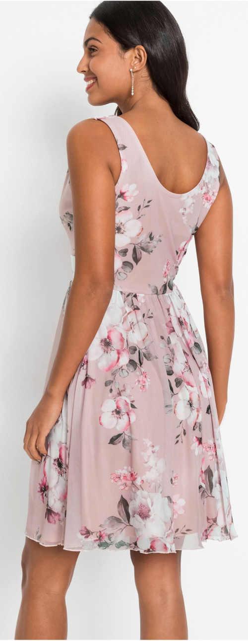 Romantické dámské šaty na svatební hostinu