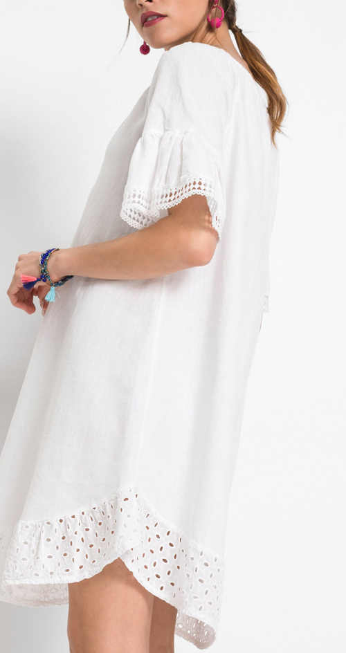 Pohodlné a moderní letní krátké šaty