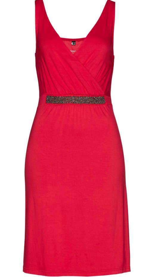 elegantní šaty z žerzejového materiálu