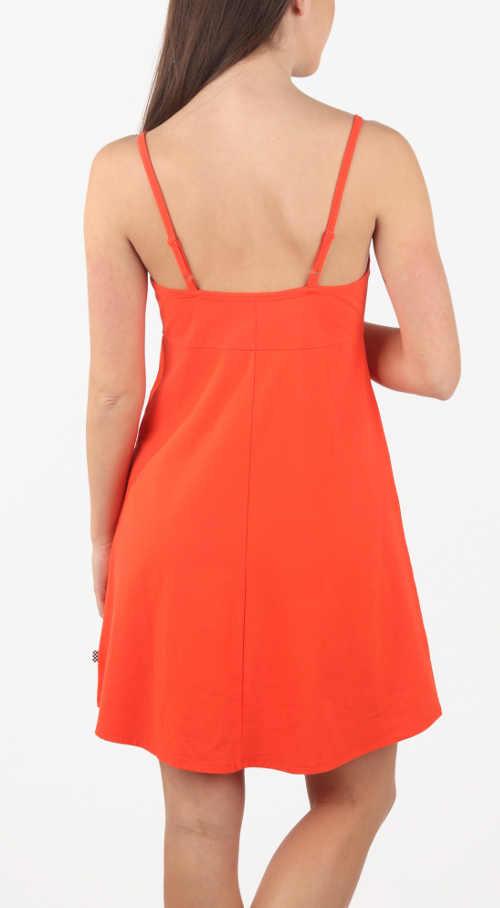 moderní letní šaty s áčkovou sukní