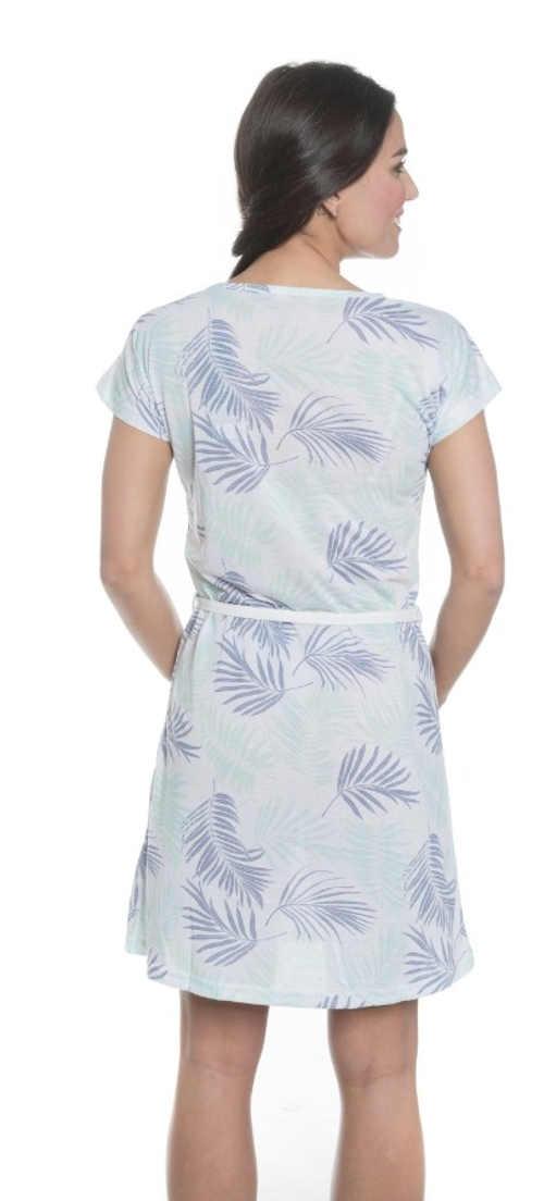 moderní šaty nad kolena v pase ke stažení