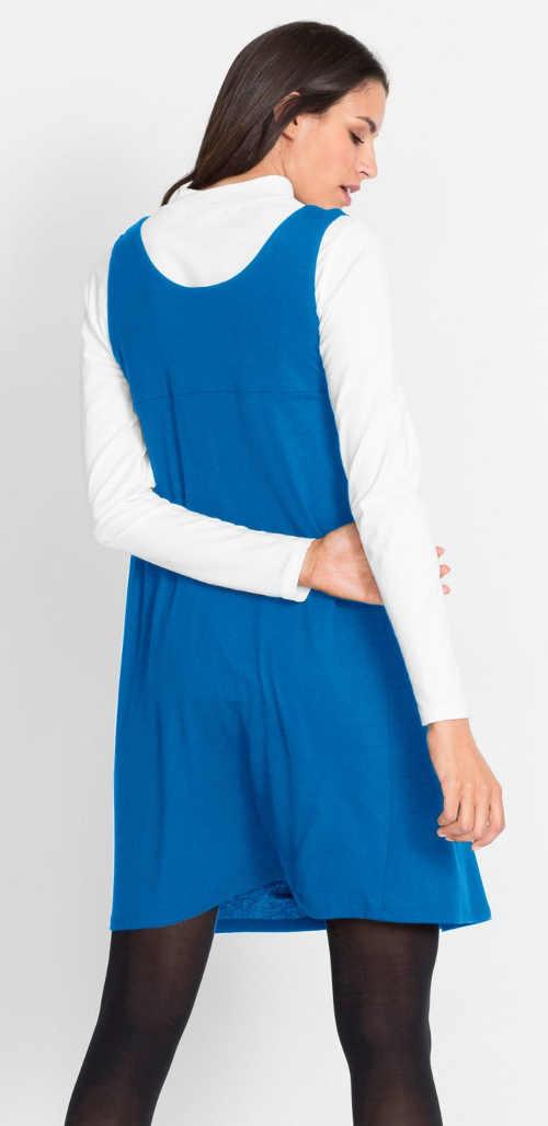 šaty z kvalitního materiálu volnějšího střihu