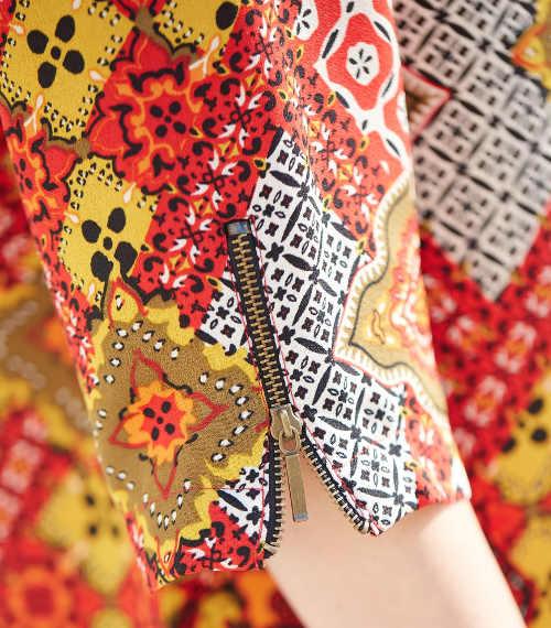 stylové dámské šaty vpředu na zip