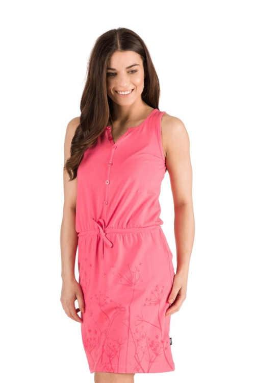Pohodlné dámské šaty bez rukávů nejen do horkých dnů