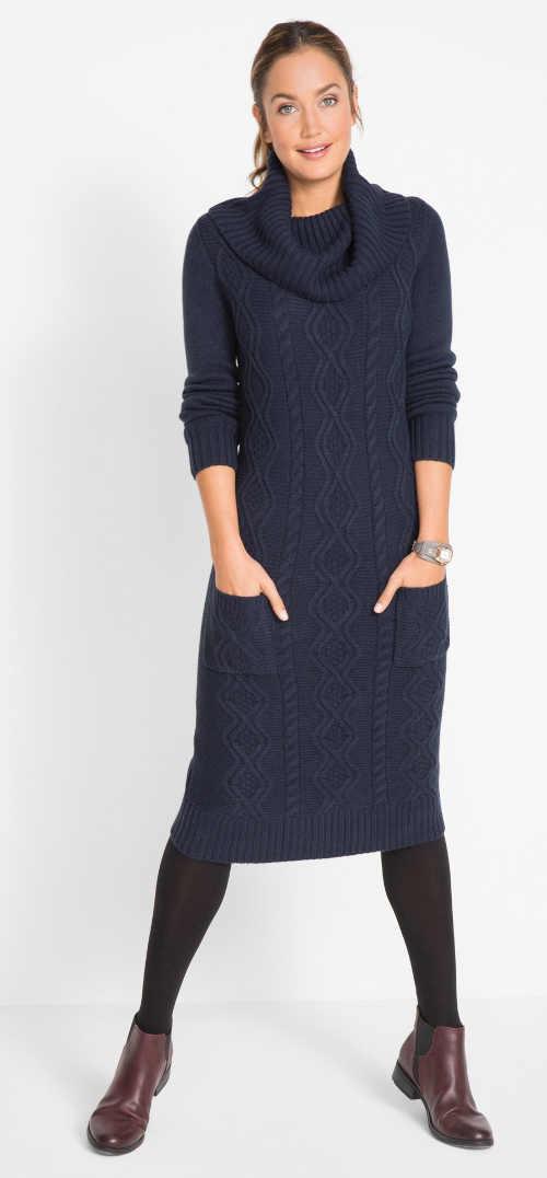 pletené dámské moderní šaty