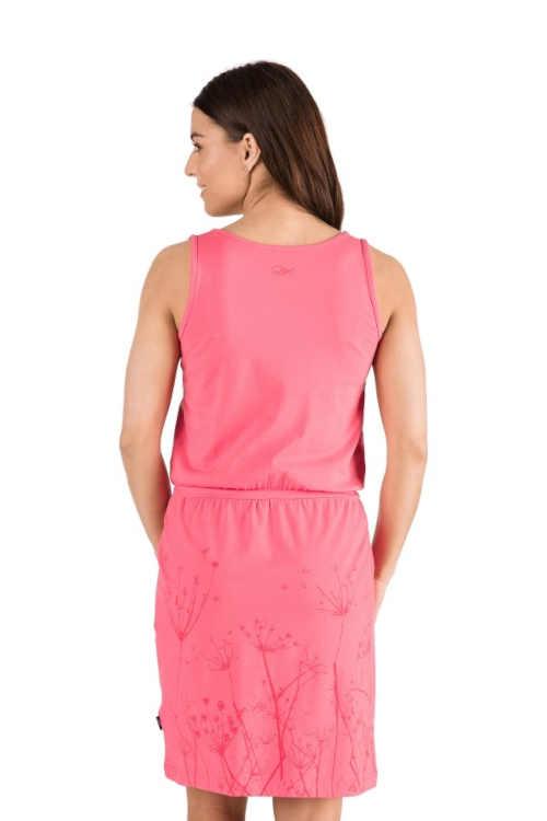 pohodlné šaty s potiskem v délce nad kolena