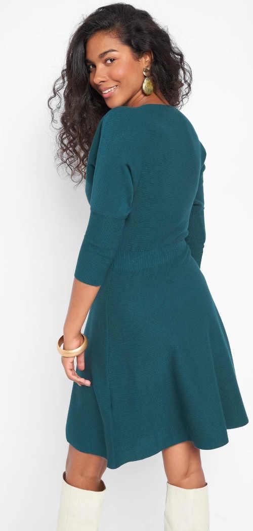 dámské šaty ze žerzeje