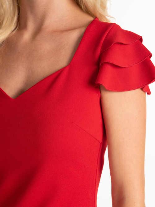 moderní dámské pouzdrové šaty
