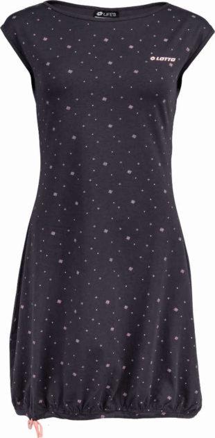 Letní šaty z příjemného materiálu s celoplošným potiskem