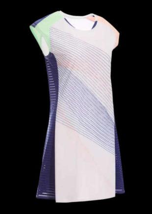 Sportovní šaty se spodním prádlem na badminton, squash, tenis