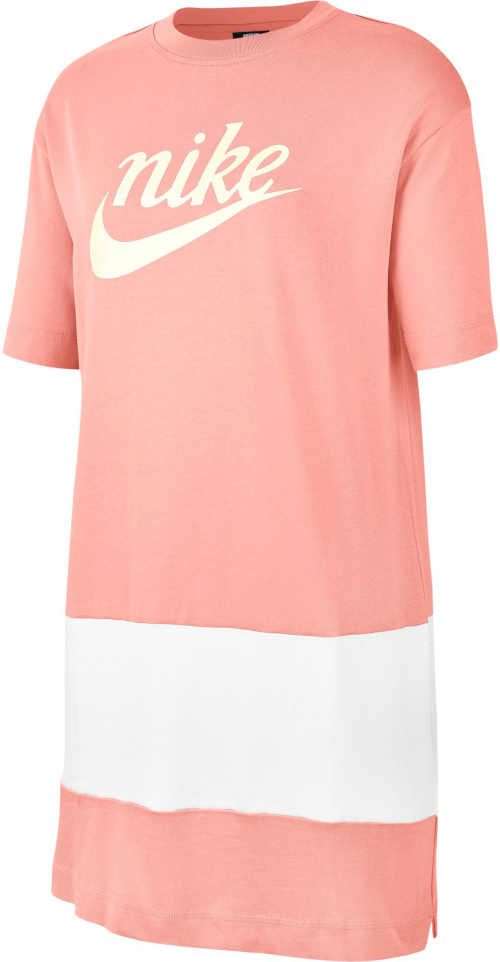 Stylové šaty Nike sportovního střihu s decentními postranními rozparky