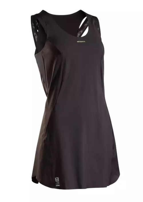 Dámské sportovní šaty na tenis v černém provedení