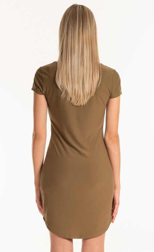 jednoduché letní šaty v krátké délce