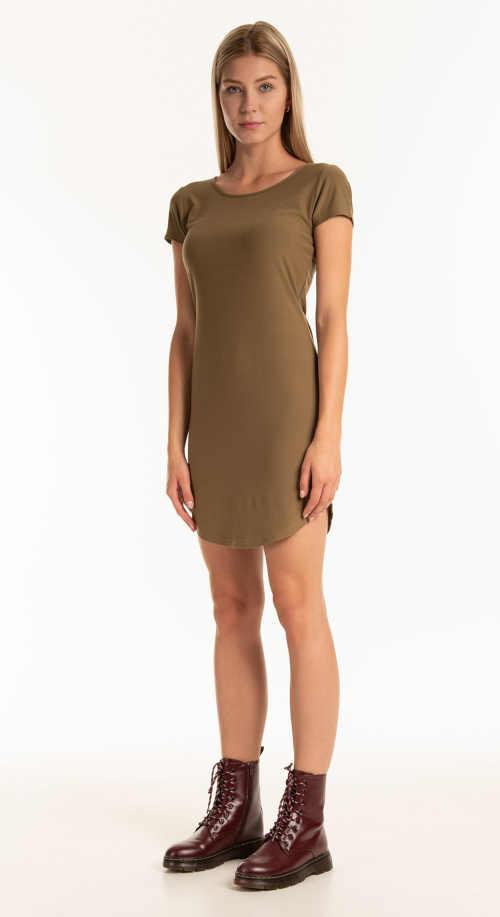 letní šaty z příjemného materiálu