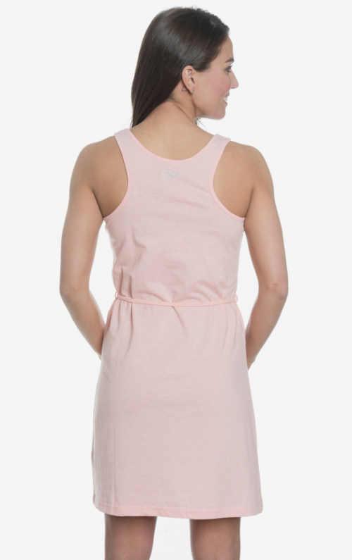 růžové šaty na léto
