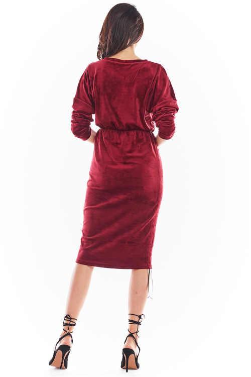 šaty s regulací délky