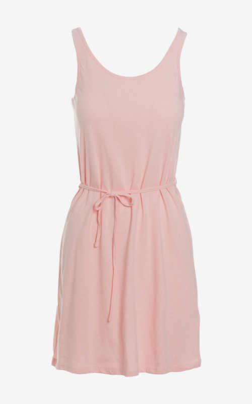sportovní letní růžové šaty
