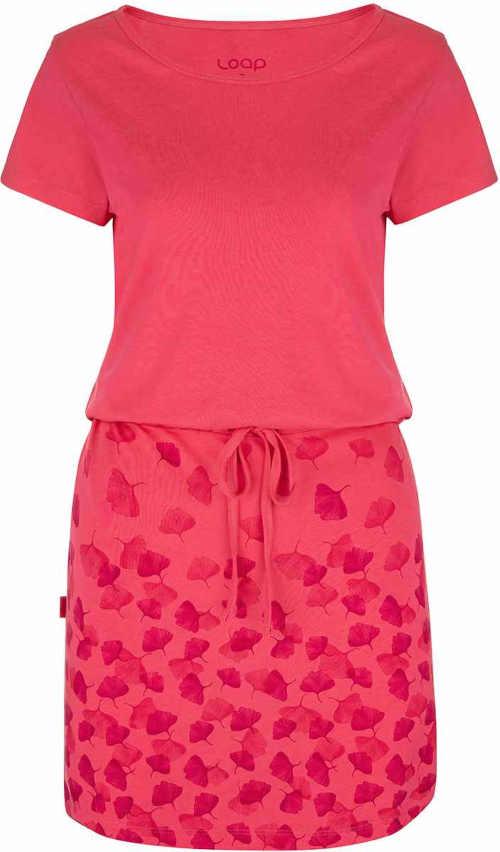 Pohodlné moderní dámské letní šaty s regulací délky