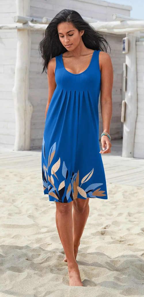 dámské krátké volné letní šaty