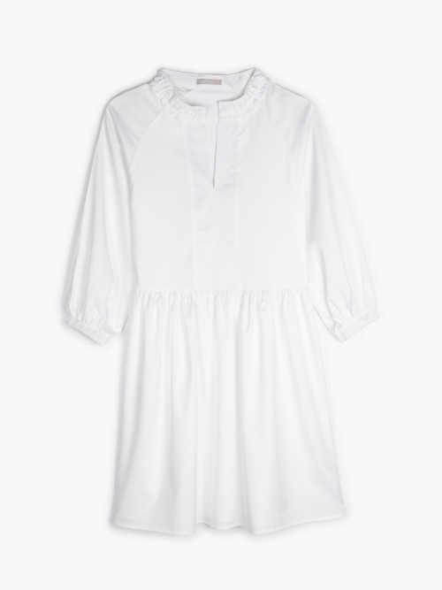 šaty přestřižené a řasené