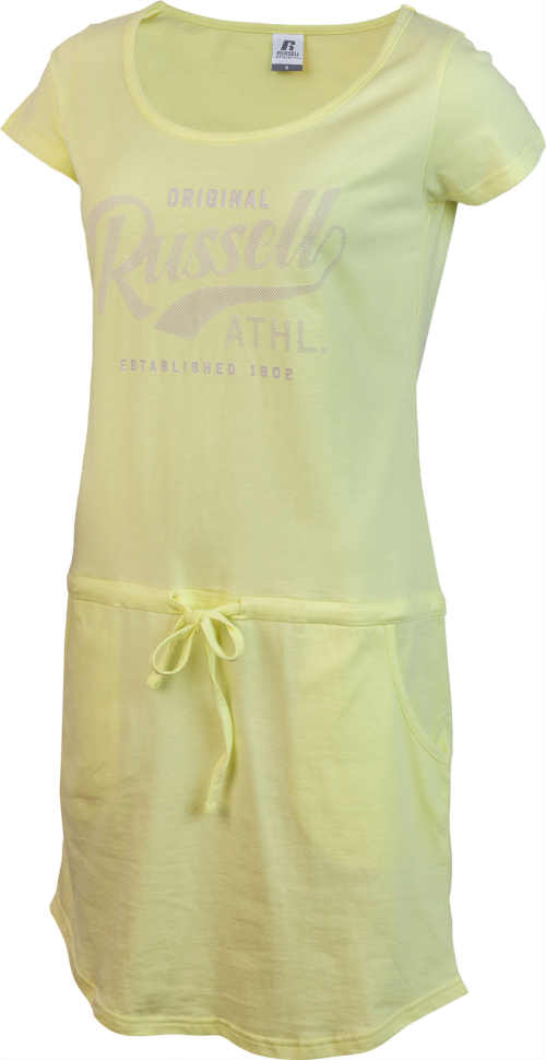 žluté letní šaty Russell Athletic
