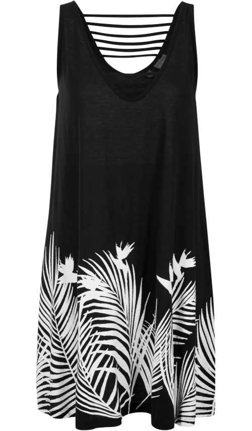 letní šaty v zajímavém střihu