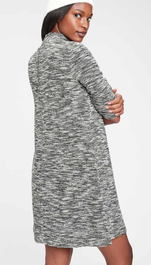 moderní šaty GAP melírovaný vzhled