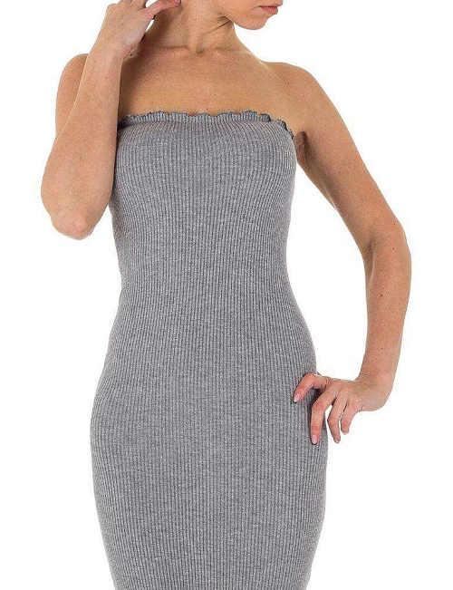 šaty dlouhé s odhalenými rameny