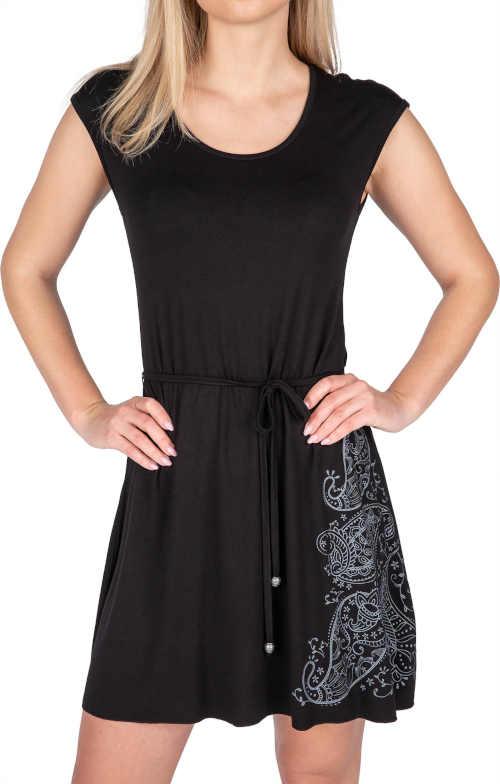 Stylové šaty s krátkým rukávem v pohodlném a nadčasovém střihu