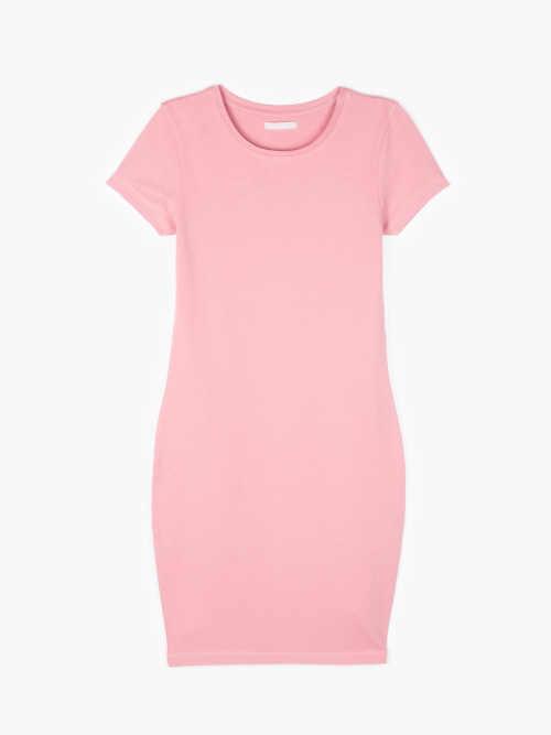 bavlněné šaty tričkového střihu