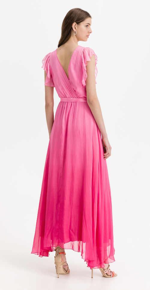 moderní dlouhé šaty Guess