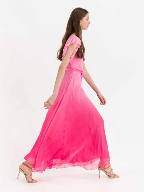šaty Guess v růžovém provedení
