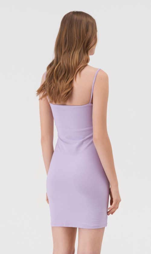 mini šaty v jednoduchém střihu