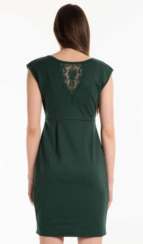 moderní šaty s překřížením