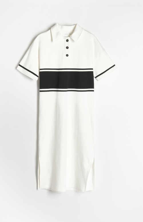 moderní šaty volného střihu