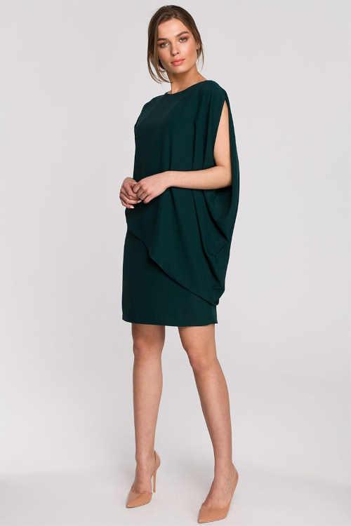 šaty nad kolena asymetrické