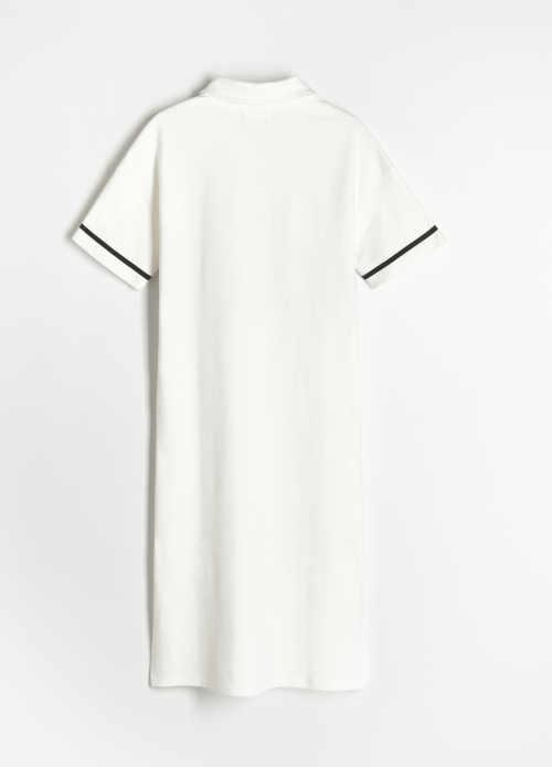 šaty žerzejové s krátkým rukávem