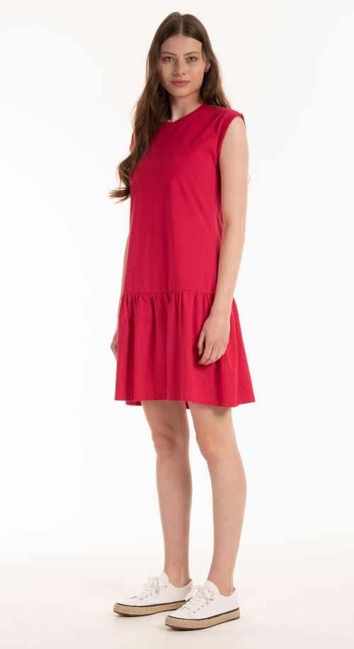 bavlněné šaty nad kolena