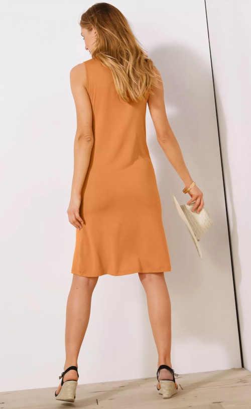 letní šaty s řasením Blancheporte