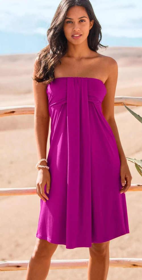 letní šaty z kvalitní látky