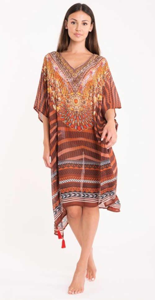 plážové šaty Georgette Astratex